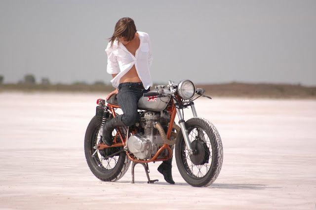 Salt Flats Bajkersha Iskusstvo Pinap Motocikl