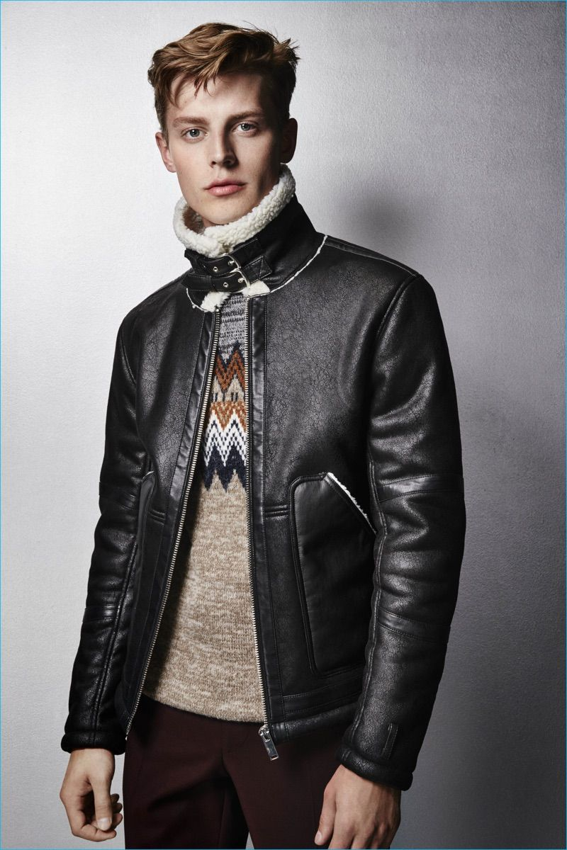 River Island channels Nordic style with its festive jumpers and statement leather.