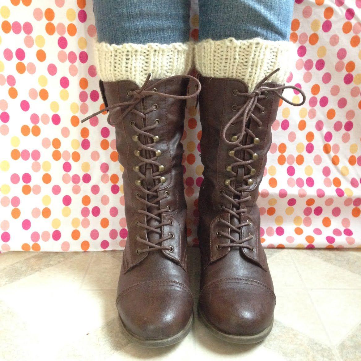 Simple Knitted Boot Cuffs from Alaska Knit Nat | knitting/crochet ...