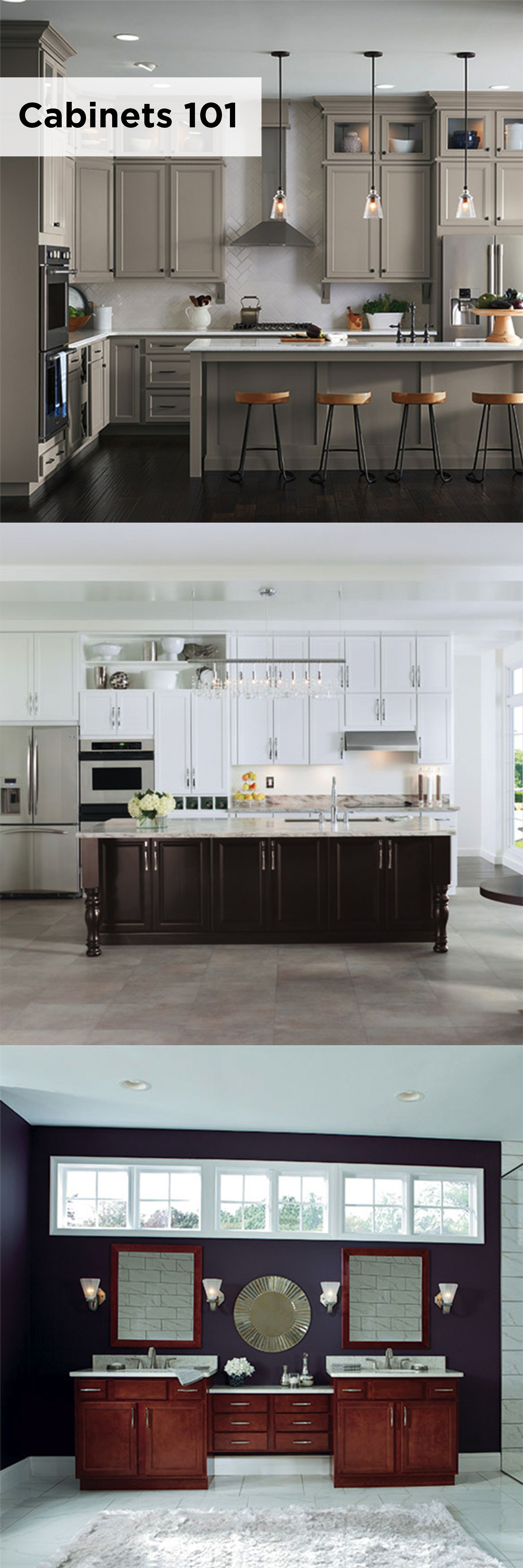 Cabinets 101 With Aristokraft Cabinetry Helps You Understand The Ins And Outs Of Cabinetry To Keep Your Choi Kitchen Remodel Small Kitchen Design Home Kitchens