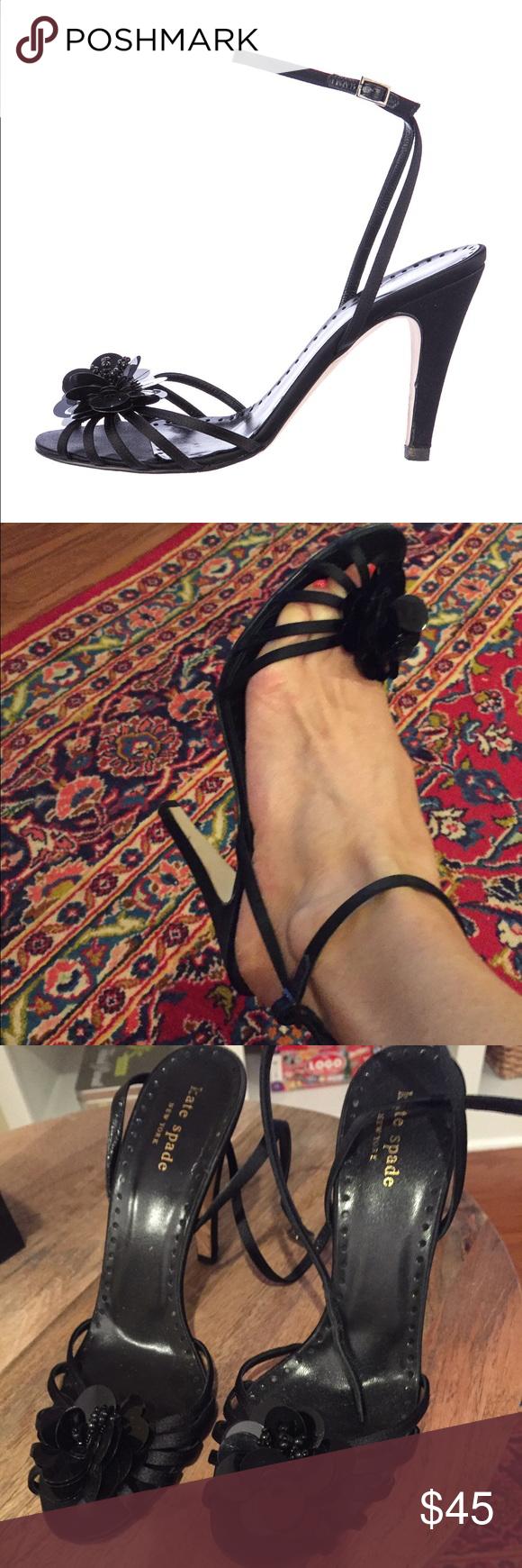 Gorgeous embellished Kate Spade Heels Gorgeous heels!  Embellished!  Like new! kate spade Shoes Heels