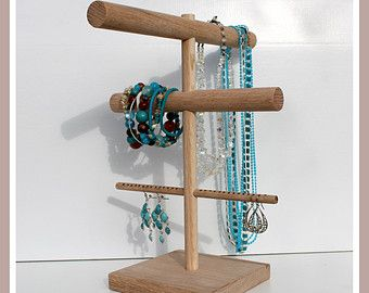 Three Tier Jewelry Organizer Display Stand Customize your Colors