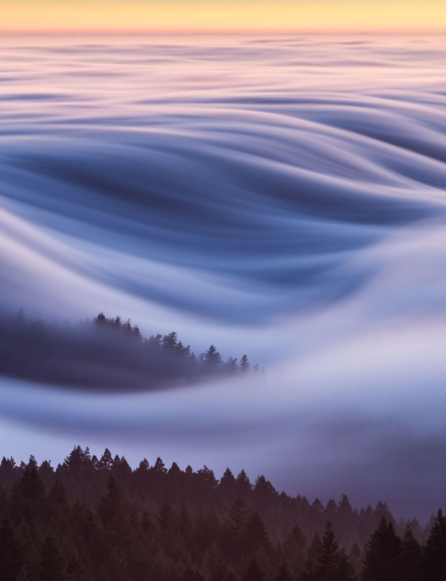 People S Choice Places Cotton Candy Fog Waves David Odisho Na National Geographic Photography Beautiful Photos Of Nature National Geographic Photo Contest