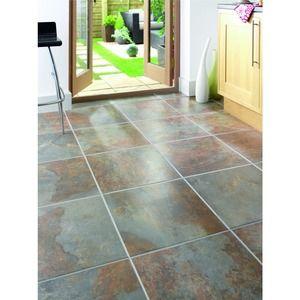 8c17e710040 Cavan Slate Effect Porcelain Tile | Our Kitchen | Tiles, Porcelain ...