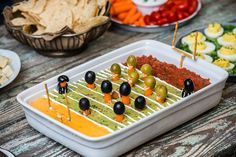 Big Game Football Field Party Dip