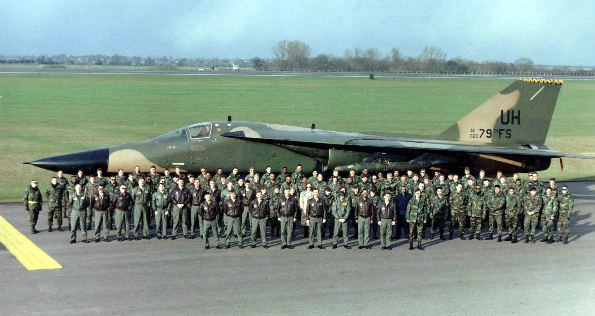 Photos RAF Upper Heyford, UK 19911993 (Set Forty Six
