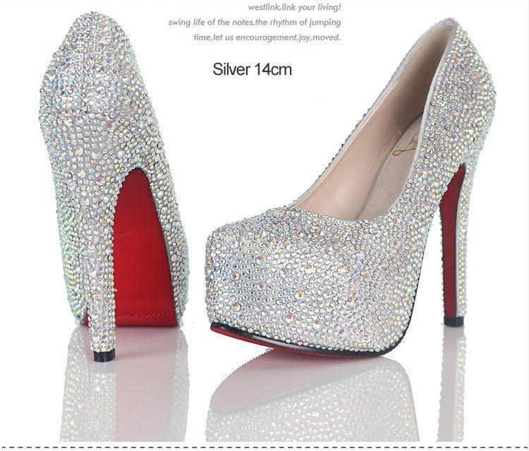 free shipping female size 4 11 peep closed toe high wedge heels ...