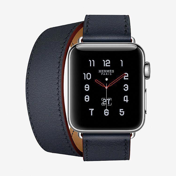 Apple Watch Hermès Strap Double Tour 38 mm front