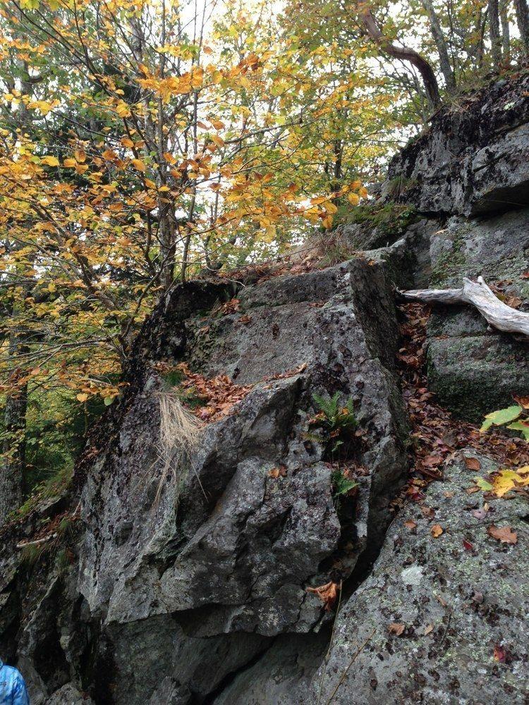 Mount Megunticook Trail Maine The path