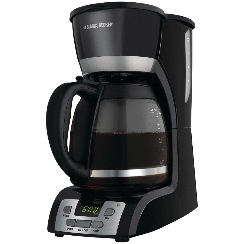 Black amp decker dcm1350 versabrew plus 12 cup programmable coffee maker - Black And Decker Dcm2160b 12 Cup Programmable Coffeemaker Black Quickly View This Special