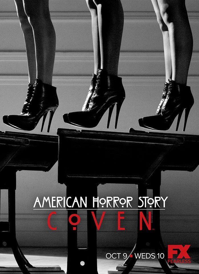 I might actually watch this season. The first one creeped me the fuck out and I never watched it again, but one about a witches coven sounds pretty cool and not too scary.