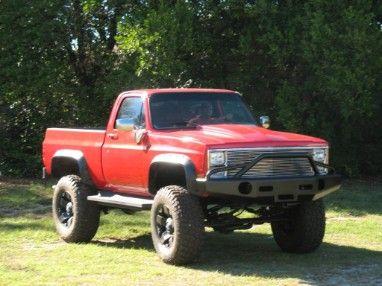 big ol truck truckin