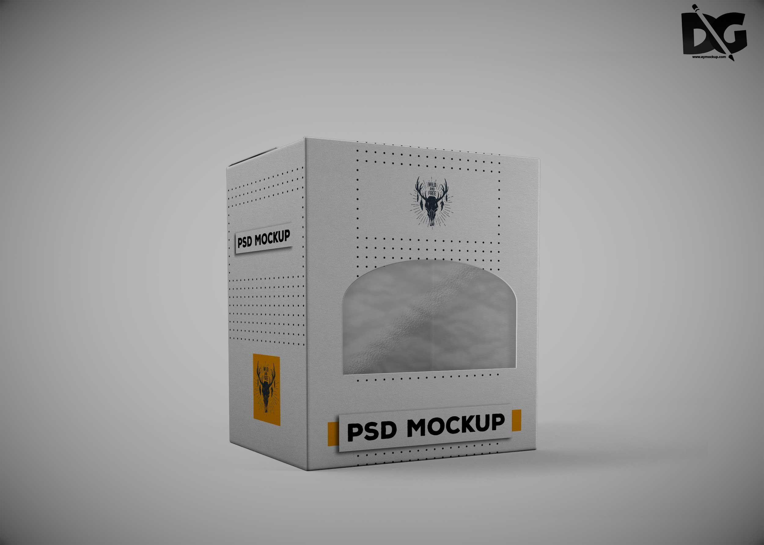 Download Diecut Box Free Mockup Mockup Design Free Logo Mockup Design Mockup Free