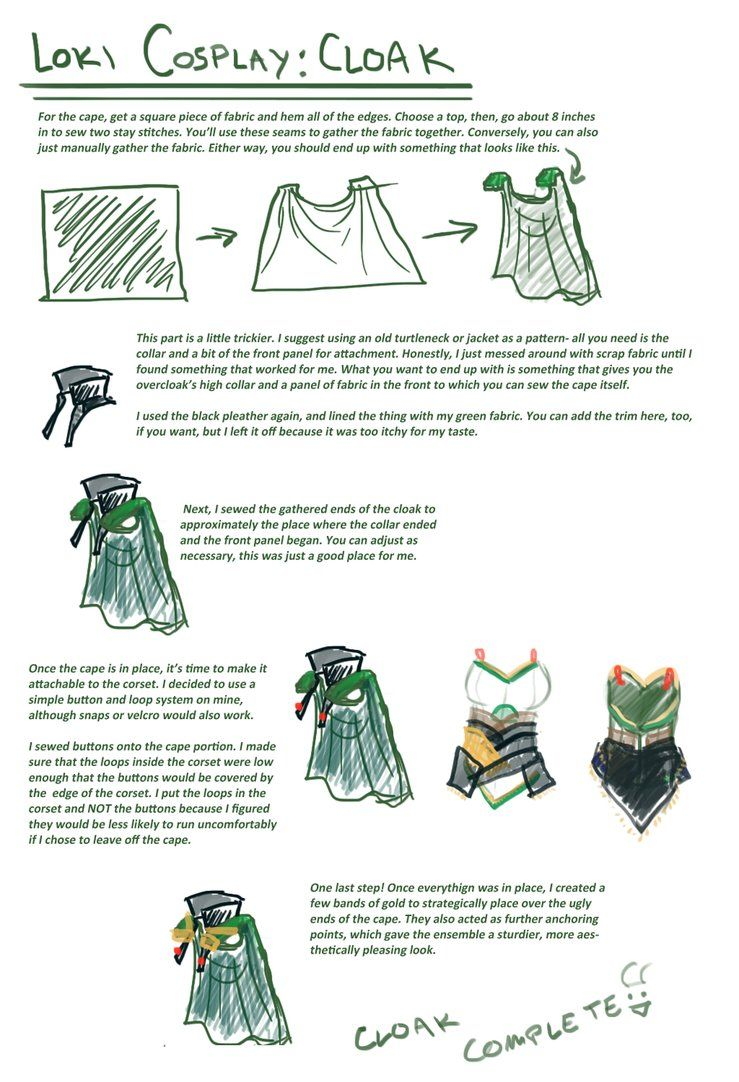 Loki cosplay guide Cape by SirLadySketch  sc 1 st  Pinterest & Loki cosplay guide: Cape by SirLadySketch | Cosplay | Pinterest ...