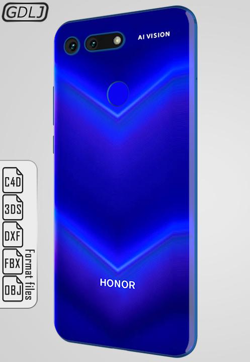 Huawei Honor View 20 Black Blue Red Huawei Honor Model
