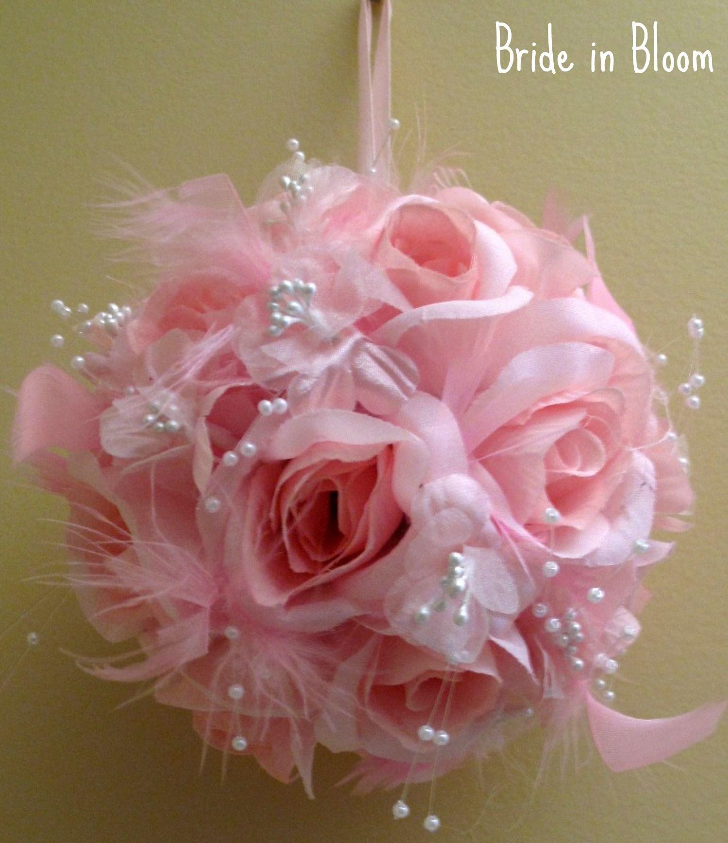 kissing balls for wedding decorations | Wedding flower balls ...