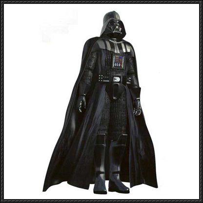 Star Wars - Full Version Darth Vader's Armor Papercraft Free Download