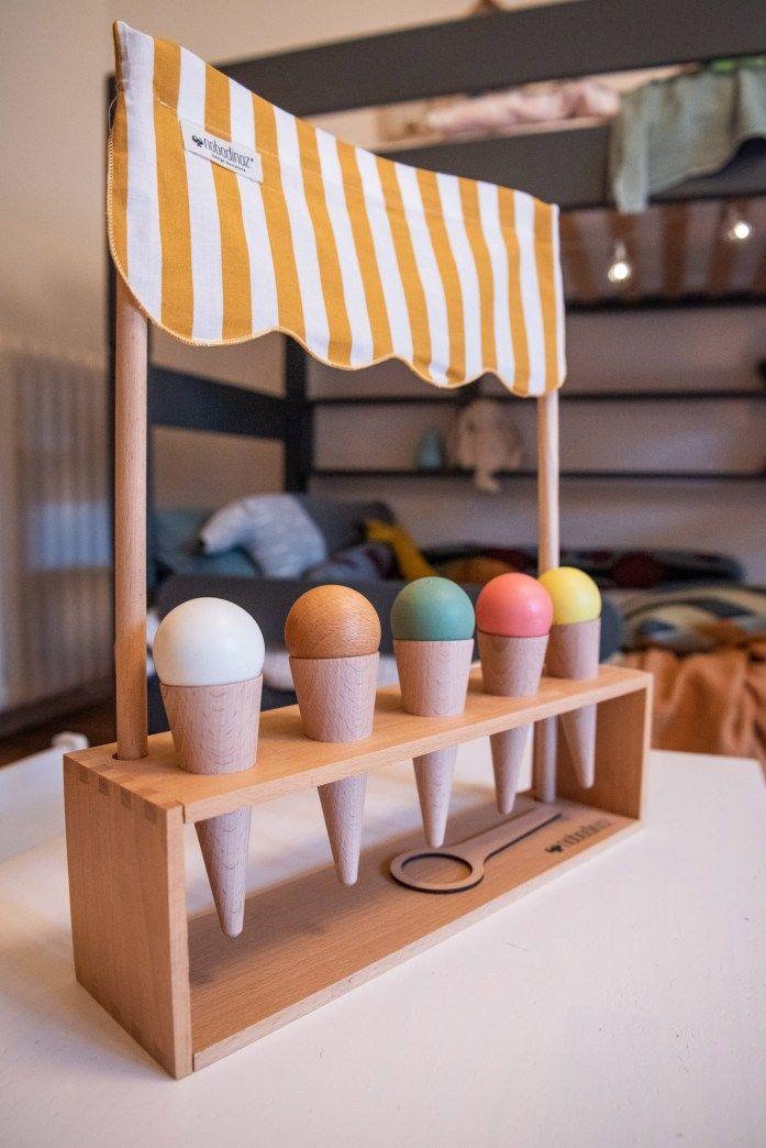 Shop my interior Das Kinderzimmer HolzEisstand für