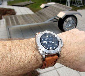 Panerai 285 worn on the wrist