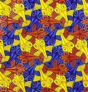 m.c. escher illusions - Bing Images  Squid!