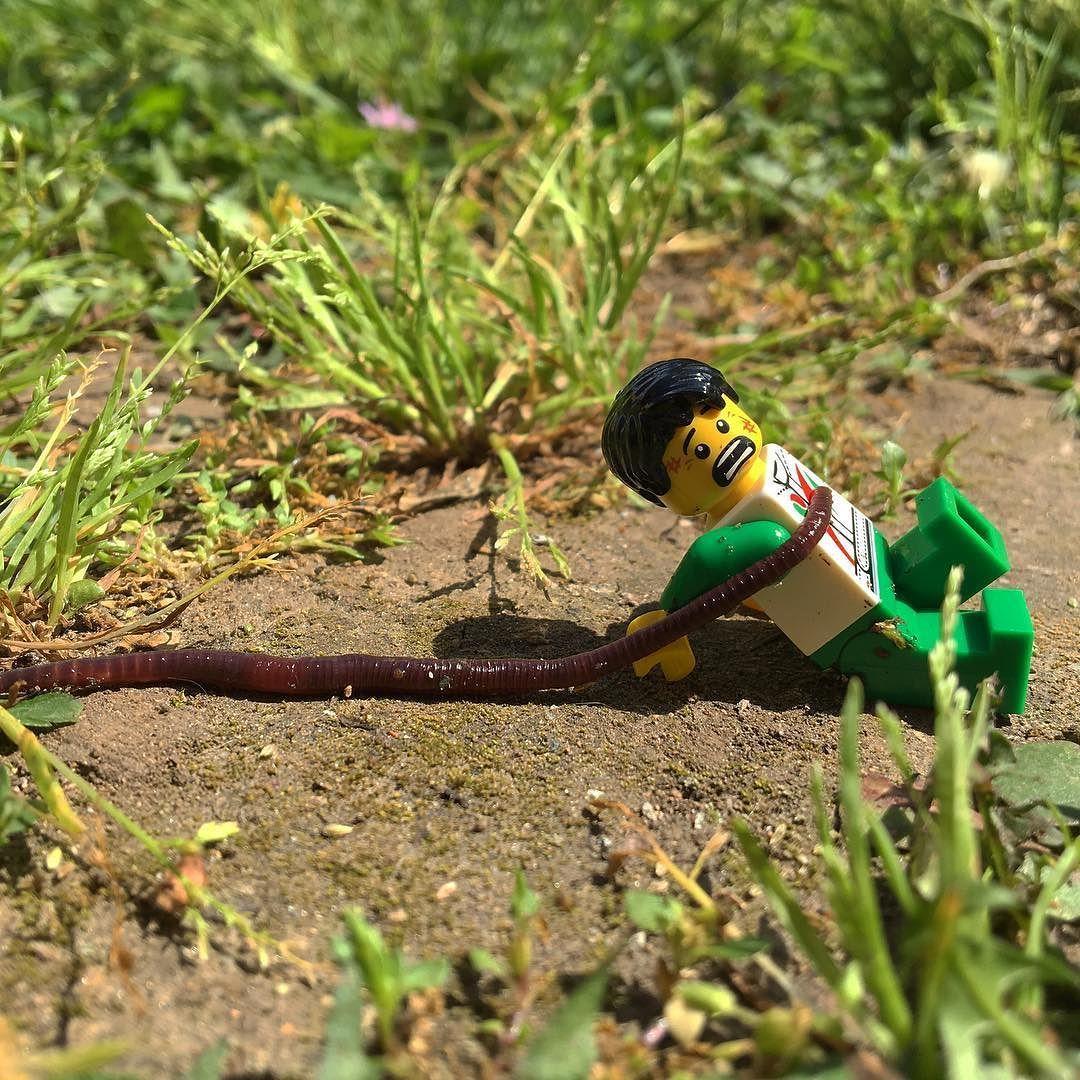 Go Eat Worms By Ryanbabylon2929 Lego Figures