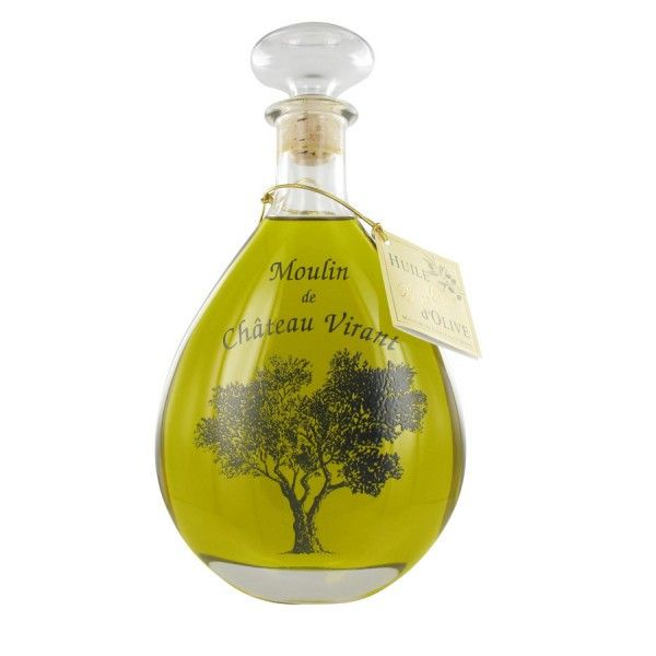 Chateau Virant Carafe Decanter Extra Virgin Olive Oil imported from France