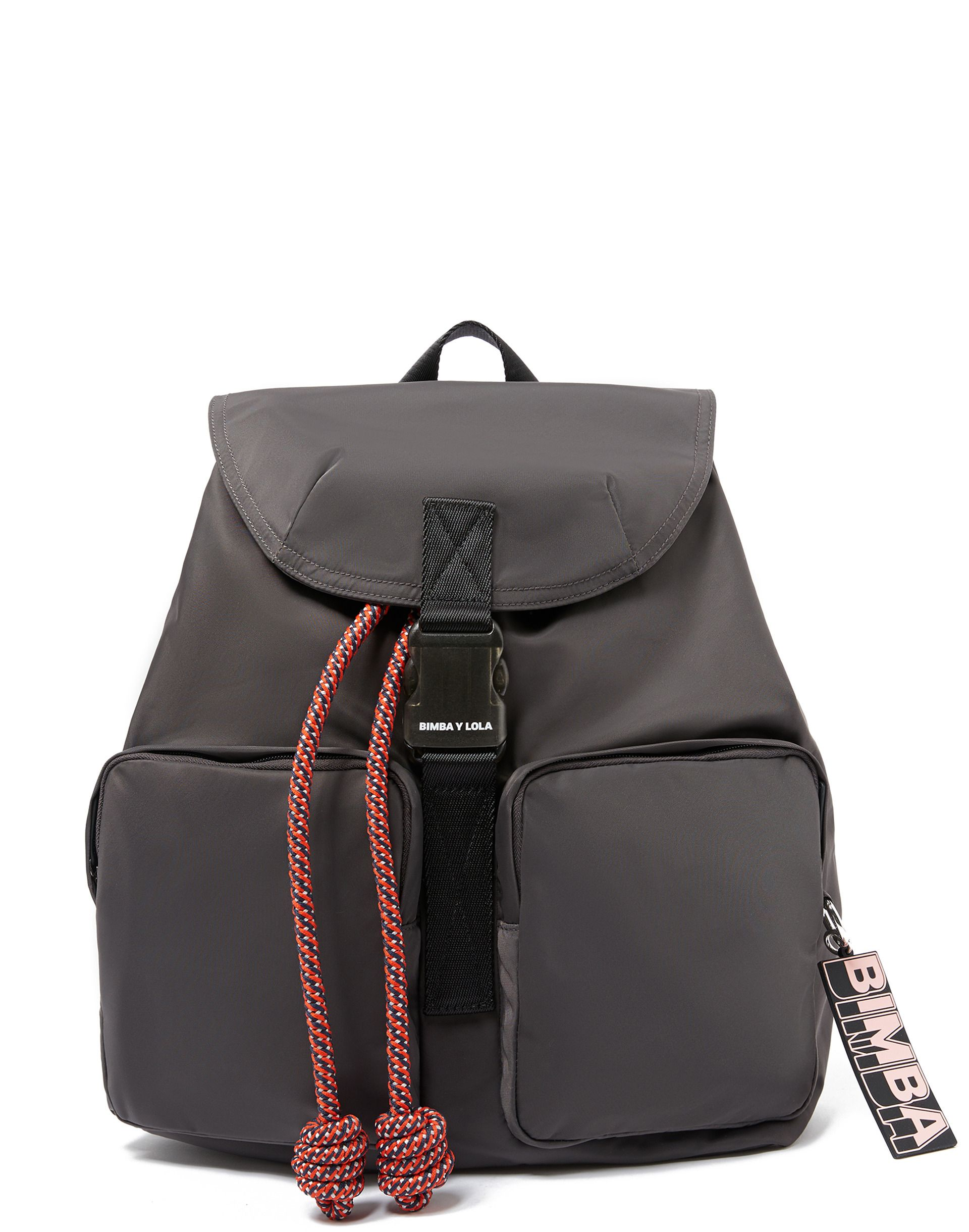 Mochila Grande Gris Backpacks Bags Fashion