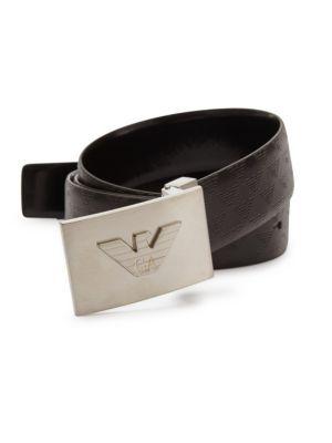 EMPORIO ARMANI Logo Leather Belt.  emporioarmani  belt  e4347ad9c8574