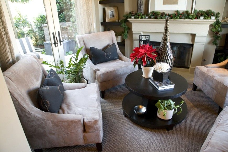 Arranging Furniture In Small Living Room With French Doors Amazing Rooms 41 Ideas 2019 Photos Family A Carpeted Four Chairs Arranged Circle Around The Two Tiered Coffee Table Arrangement Is Front Of Enclosed