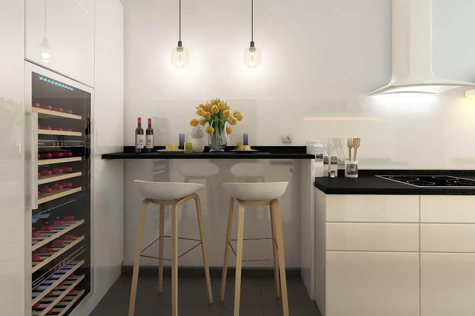 Photos de cuisine de style de style moderne : appartement paris ...