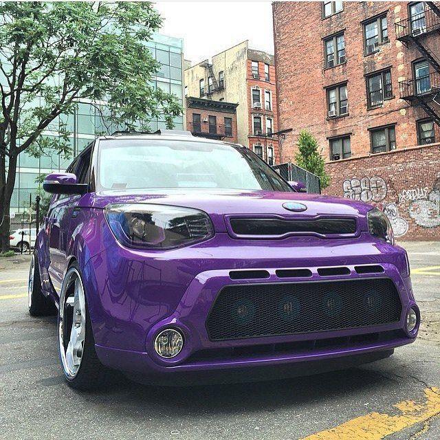 Kia Soul Kia Kiasoul Soul Kiafans Mykia Purple Car Photo Taken By Kiafans On Instagram Pinned Via The Instapin Ios A Kia Soul Accessories Kia Soul Kia