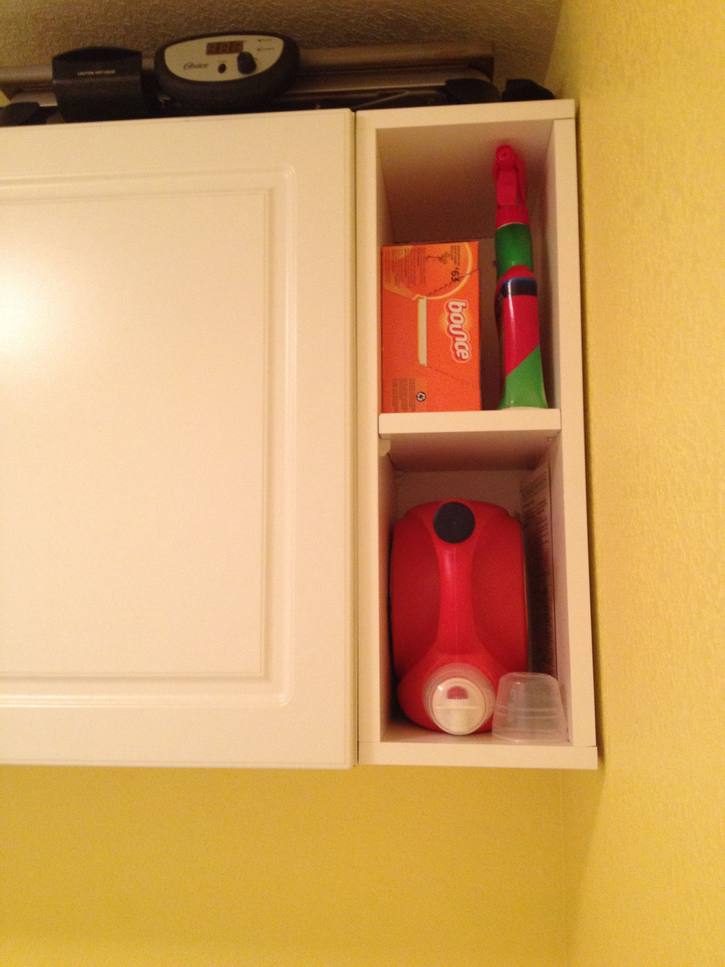 Build a cubby to fill gaps between prefab cabinets and the ...