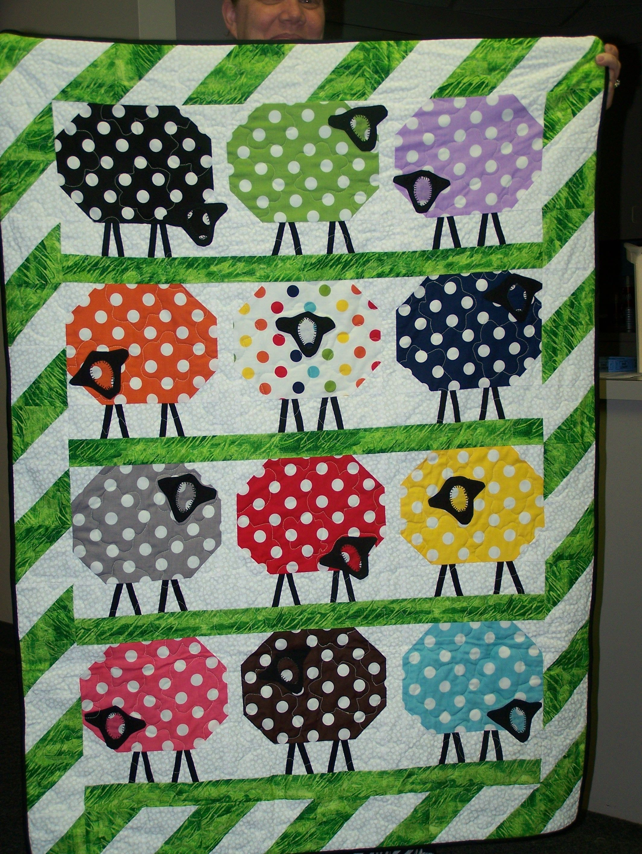 Counting Sheep Quilt - Jackie B