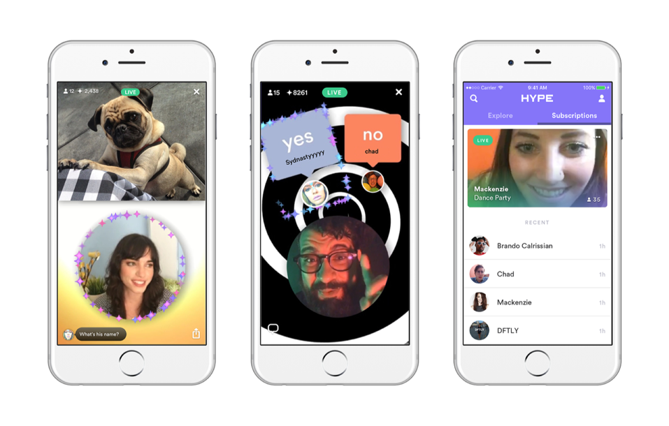 The makers of the application Vine launched a new app