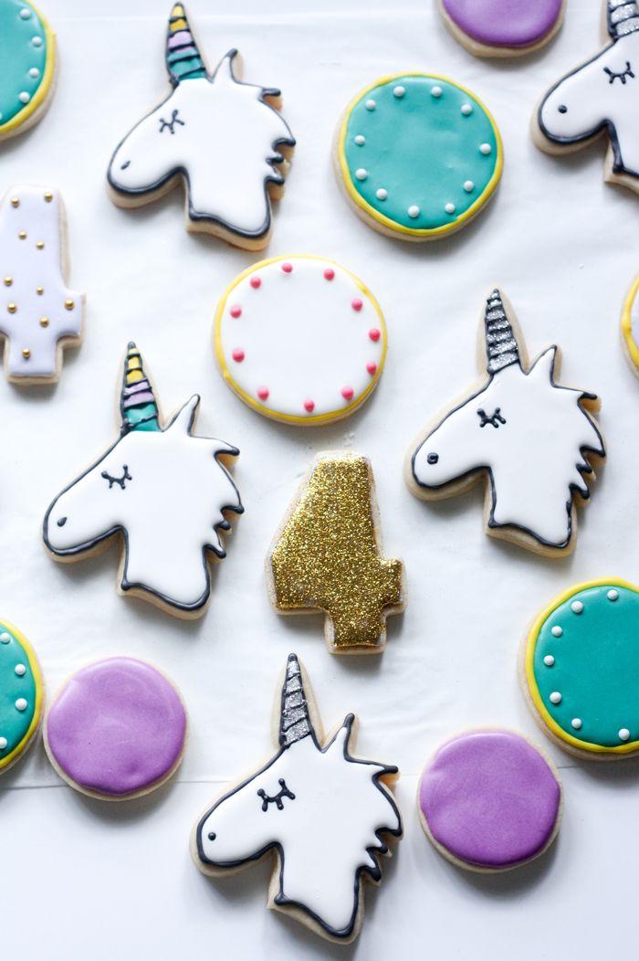 alisons cookie party unicorns