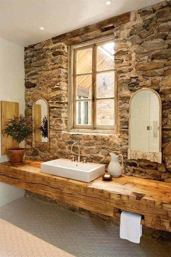 rustic bathrooms. 30 Inspiring Rustic Bathroom Ideas for Cozy Home