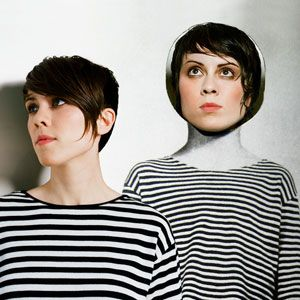 """""""Sainthood"""" by Tegan and Sara.   I still prefer tangible CDs to mp3s. Call me old-fashioned :)"""
