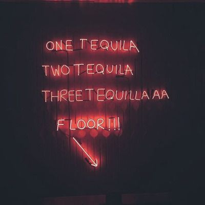 One tequila two tequila three tequila floor