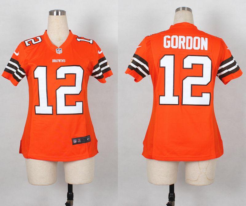 josh gordon orange jersey