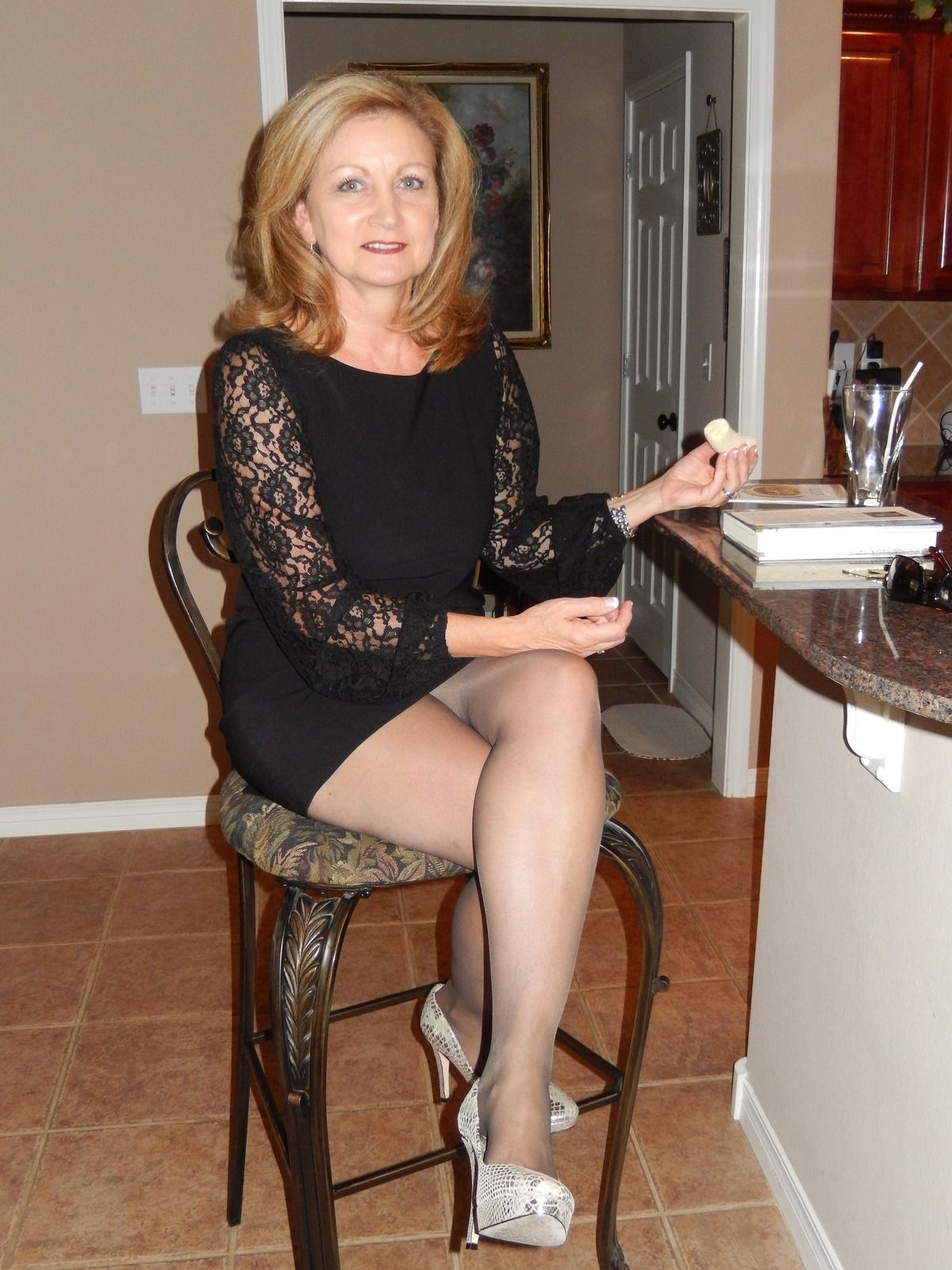 Mature women in dresses galleries