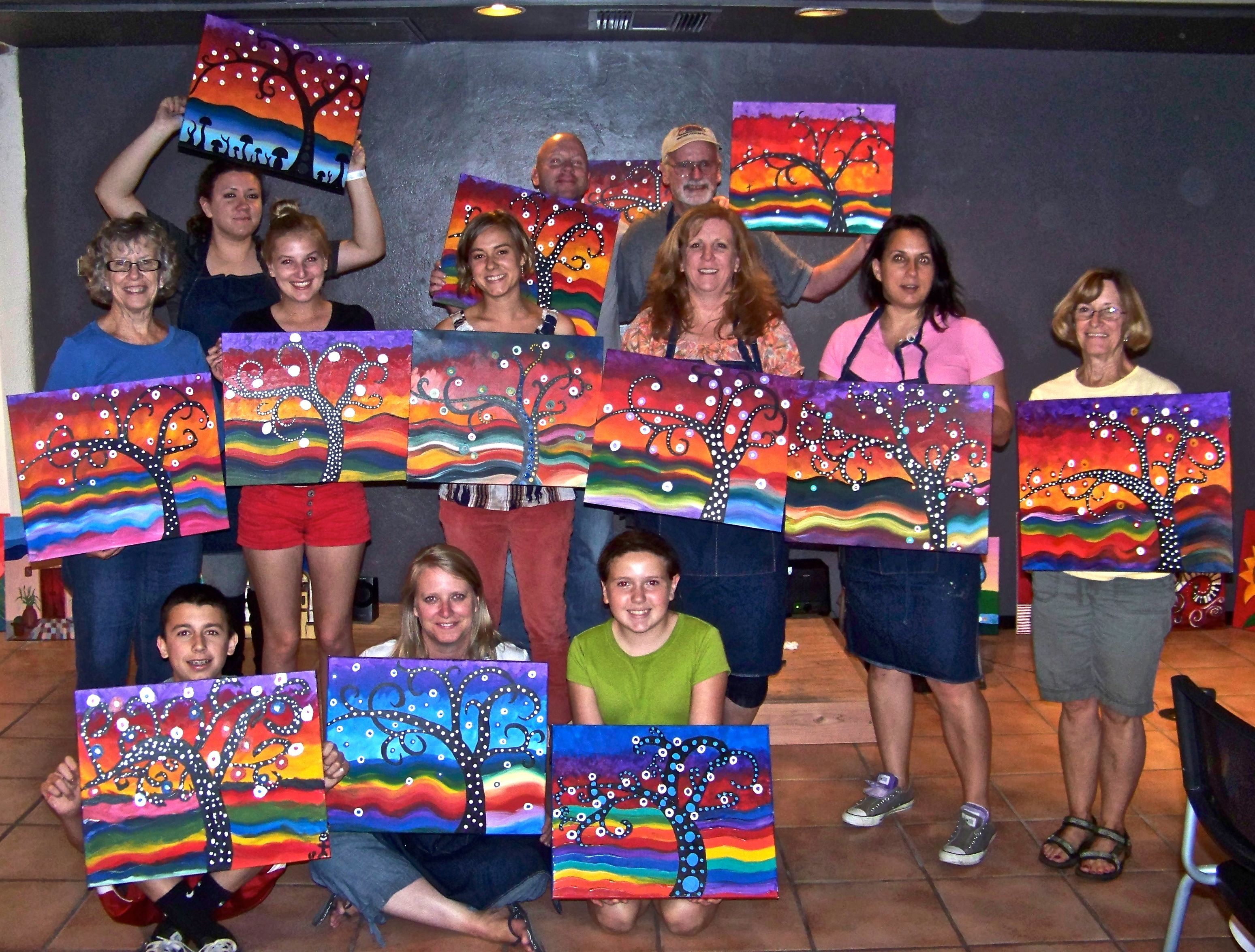 Adult Paint Party Google Search