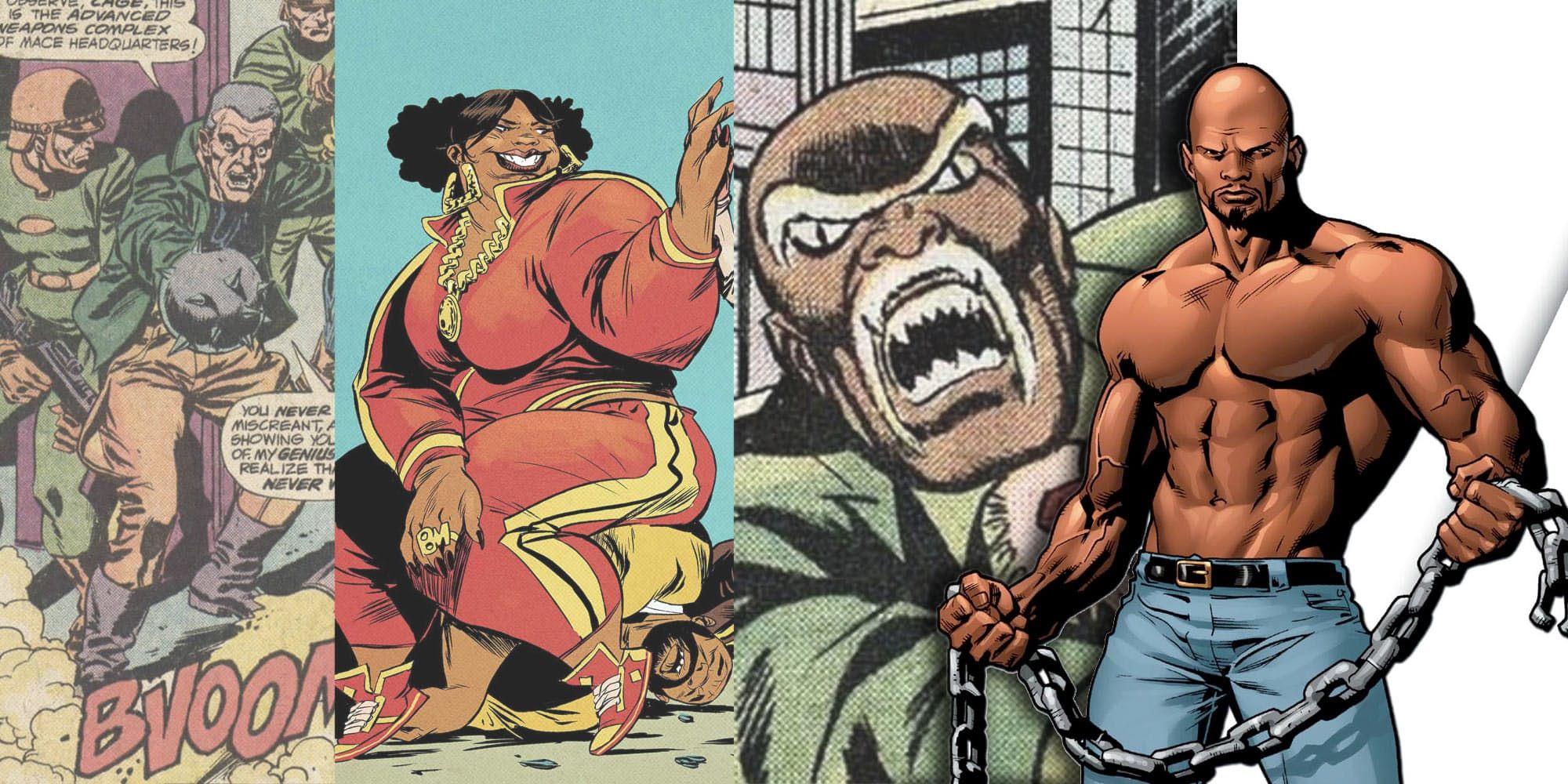 Pin by James Richardson on Black Superheroes Luke cage