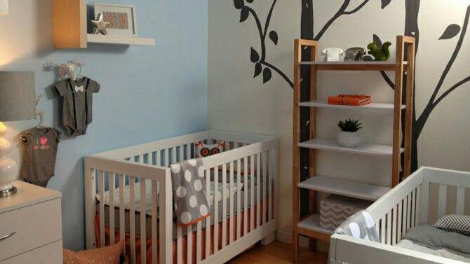 Décore ta vie - Chambre de bébé (j\u0027aime beaucoup les 2 arbres et les