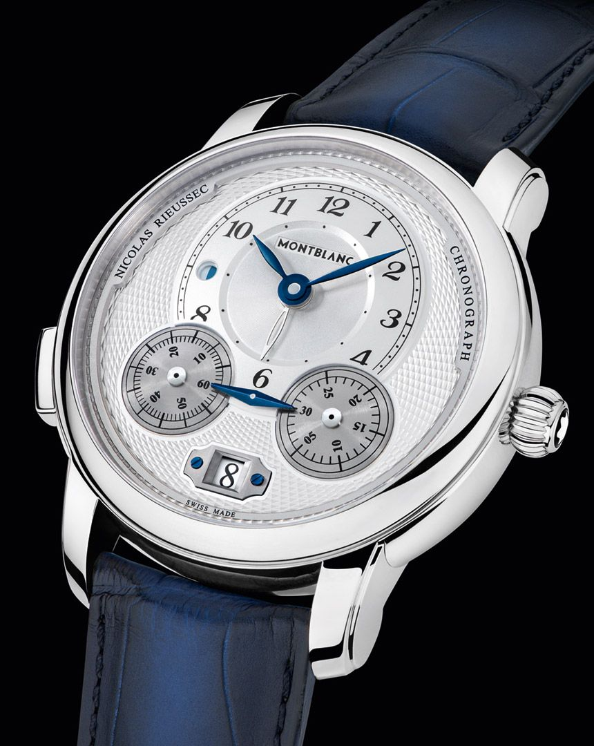 973e5980724 Montblanc Star Legacy Nicolas Rieussec and Star Legacy Automatic  Chronograph Watches
