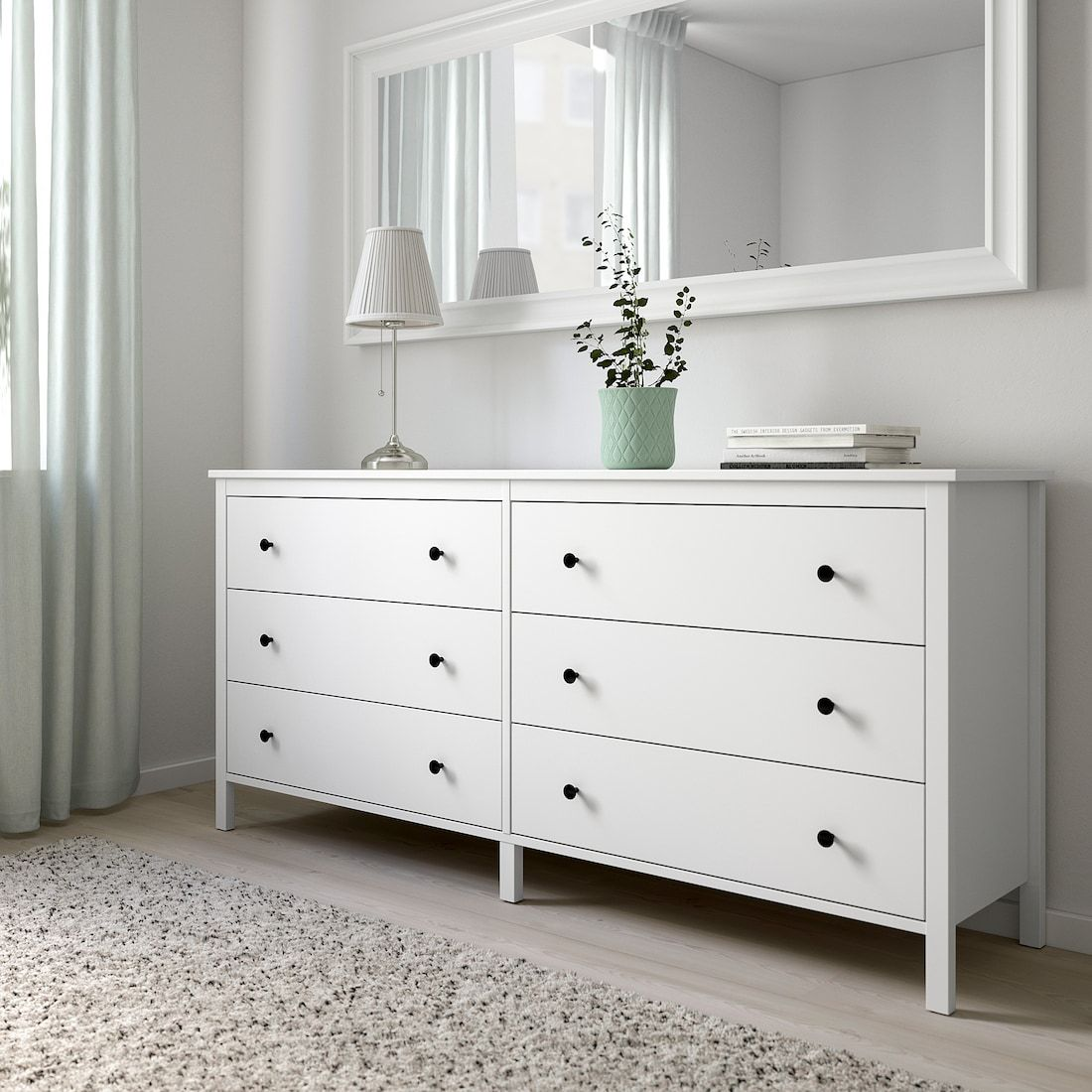 KOPPANG white, Chest of 12 drawers, 12x12 cm - IKEA  Bedroom
