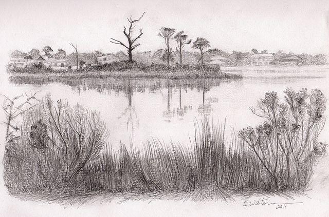Landscape 1 Explored Landscape Sketch Landscape Drawings Landscape Pencil Drawings