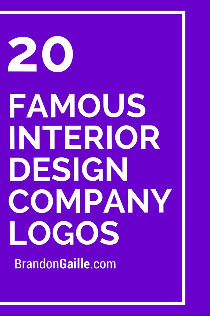 Famous interior design company names for Names of famous interior designers