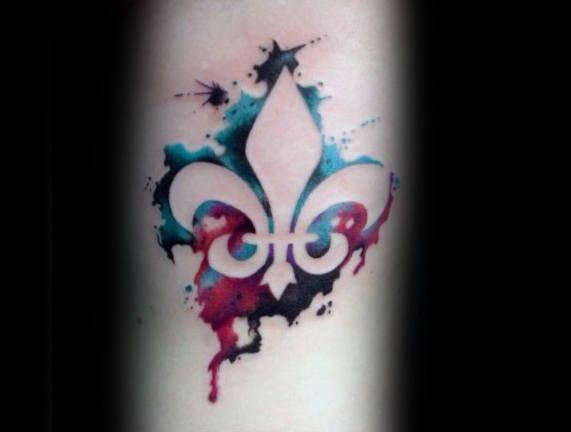 70 fleur de lis tattoo designs for men stylized lily ink ideas fleur de lis tattoo tattoos. Black Bedroom Furniture Sets. Home Design Ideas