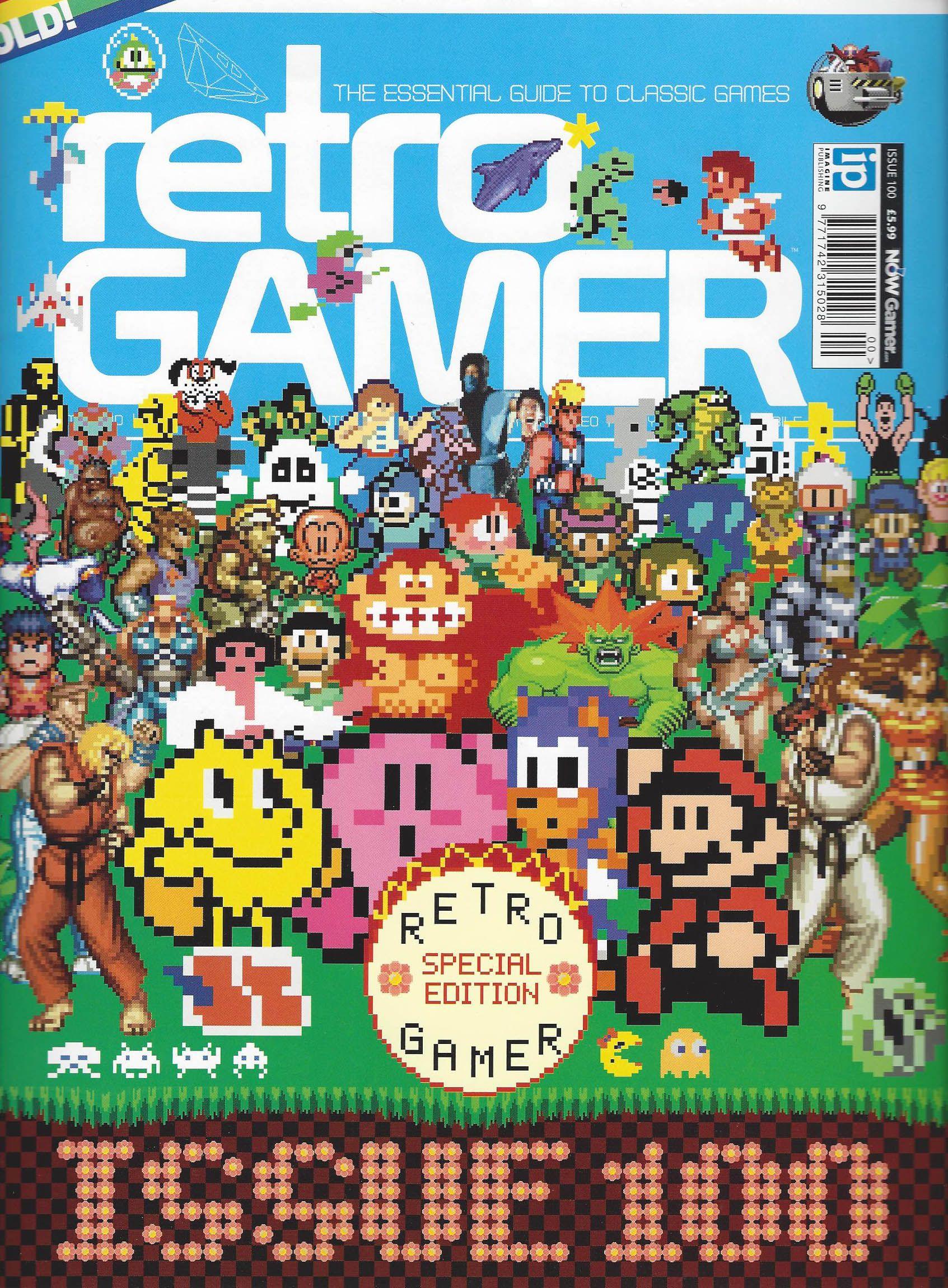 Retro Gamer magazine: Issue 100   Retro Gamer Magazine   Retro gamer