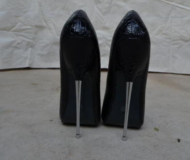 0691ad55d647 Women s 16cm High Heel Stilettos Super Sexy Nightclub Pumps Pointed Toe  Shoes